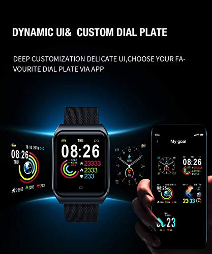 Smart-Watch-for-Android-and-iOS-Phone-2020-Version-Smartwatch-IP68-WaterproofBluetooth-Fitness-Activity-Tracker-with-Heart-Rate-Blood-Pressure-Monitor-Step-Sleep-Tracker-Message-ReminderMen-Women
