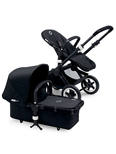 Best Review Of Bugaboo Buffalo Black Frame Stroller (Black)