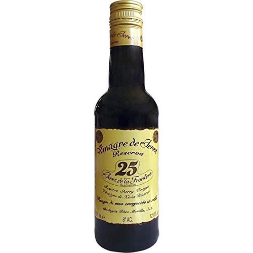 Bodegas Páez Morilla - Vinagre de Jerez Reserva- Vinagre de Vino Envejecido en Roble - Ideal para Tus Comidas - 375 Ml