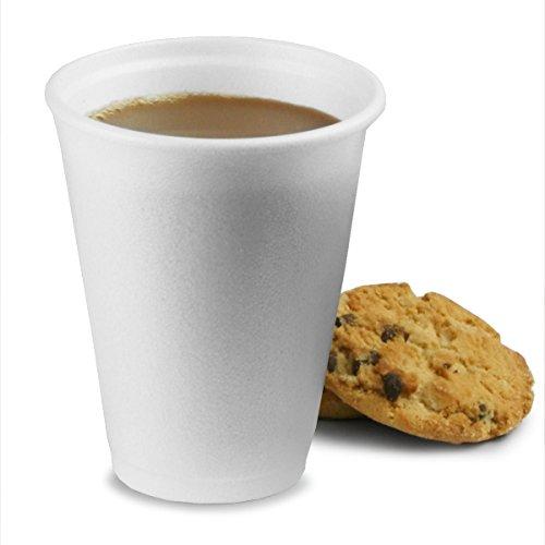 Wegwerp polystyreen bekers 7oz / 200ml - Case of 1000   Wegwerp koffiebekers