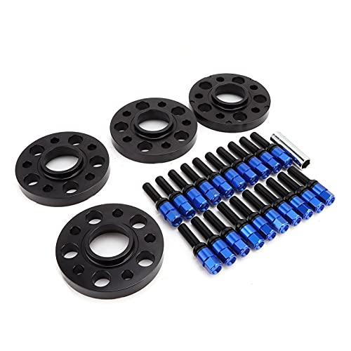Fydun Juego de espaciadores de Ruedas, 20 mm 6061-T6 Aluminio de Repuesto para Serie 3 G20 318d 320d 320d 320i 330d 330i 2019-2020(Azul)