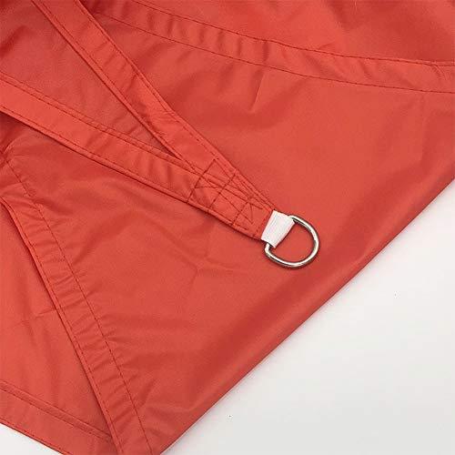 MAHFEI Malla Sombra De Red Sombra Solar Toldo Rectángulo Diseño Cóncavo Impermeable 95% De Protección UV con Anillo De Metal for Patios Al Aire Libre Decoración De Pérgola Fiesta Temática