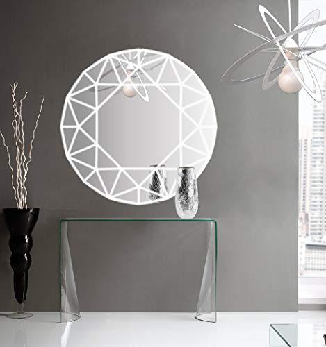 Generico Angle Mirror Espejo Retroiluminado Decoración Efecto 3D Espejo LED