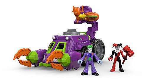 Imaginext - Vehículo de Joker, Multicolor (Mattel 21-56DWV)