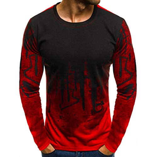 Luckycat Herren Sweatshirt Biker Pullover Rundhals Ausschnitt Slim Fit Baumwolle-Anteil Basic Männer Longsleeve Pulli weißes Langarmshirt Crew Neck Sweater T-Shirt Langarm