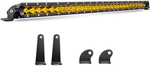 Chelhead 32 INCH Yellow Led Light Bar 150W Spot Flood Combo Beam 15000lm Off Road Led Driving product image