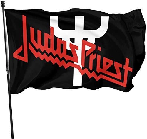 'N/A' Home Decoration Judas Priest Painkiller - Bandera de jardín para interiores y exteriores (1,5 x 1,5 m)