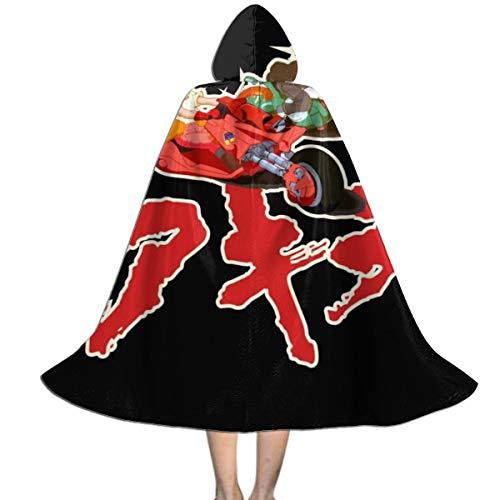 NUJSHF Akira Capsule Gang Unisex Niños Capa con Capucha para Halloween Decoración de Fiesta rol Cosplay Disfraces Outwear