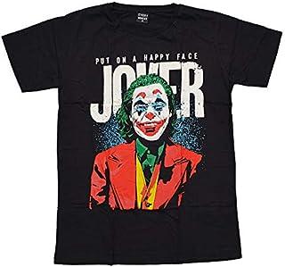ジョーカー Tシャツ 黒 M/L/XLサイズ 映画 JOKER レディース メンズ ブラック ピエロ