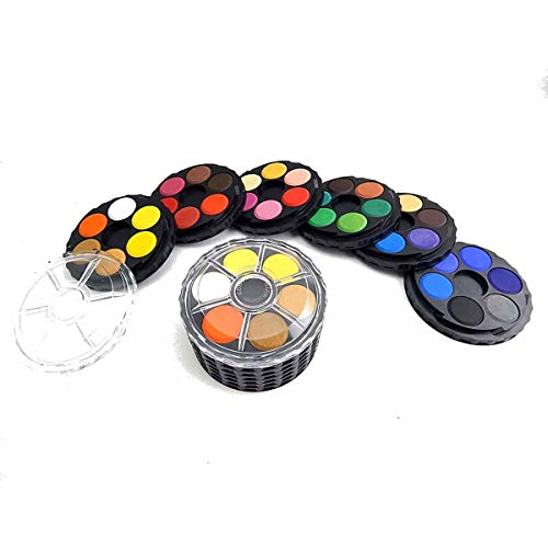 KOH-I-NOOR 017150900000 36 Round Water Colour Paint