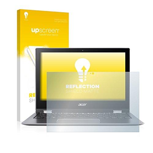 upscreen Entspiegelungs-Schutzfolie kompatibel mit Acer Spin 1 SP111-32N – Anti-Reflex Bildschirmschutz-Folie Matt