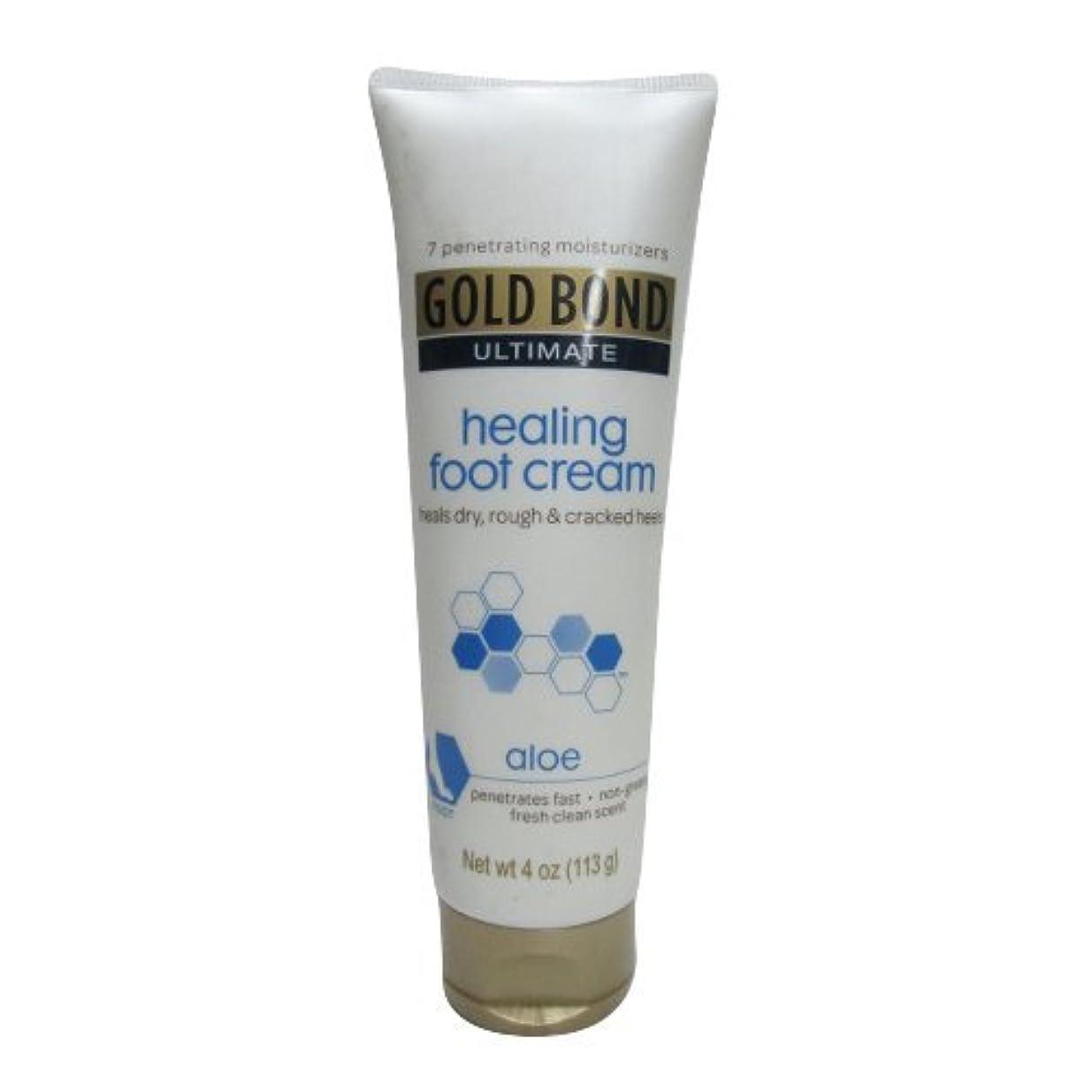 赤外線鉱夫証言するGold Bond Healing Foot Therapy Cream 120 ml (並行輸入品)