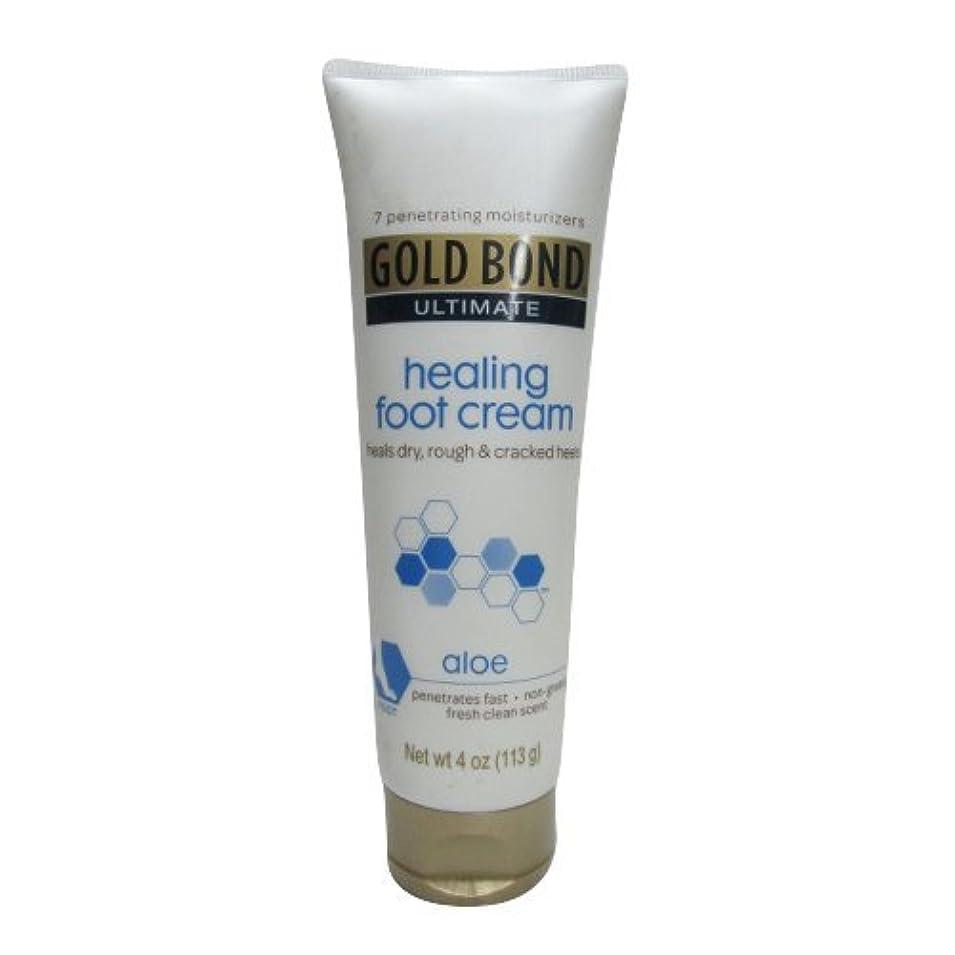 外国人しょっぱい小包Gold Bond Healing Foot Therapy Cream 120 ml (並行輸入品)