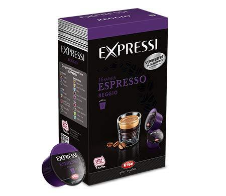 K-Fee Lounge Expressi Espresso Reggio Kaffeekapseln, 96 Kapseln, kompatibel mit Teekanne Lounge Kaffee- und Teemaschine