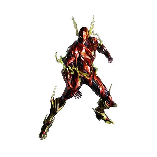 HAGENGOO Flash PlayKaiPA DC Justice League VARIVANR Modelo muñeca de Juguete Coleccionable, Multicolor Tamaño: 25 cm