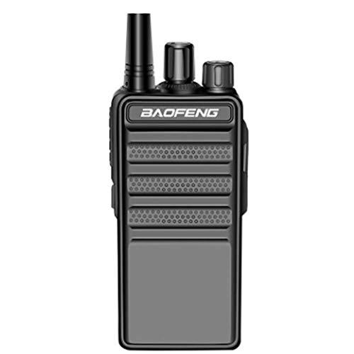 MHCYKJ Walkie Talkie Radio de 2 vías hasta 5 Millas Tiempo de Espera Ultra Largo 1000Mah Exploración de batería Recargable Radio FM Función Tot Radio bidireccional