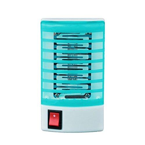 Sensail électrique Tueur de Moustique Zapper Lampe Protection Anti-insectes Pour Enfant (bleu)