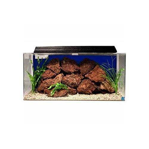 """SeaClear 50 gal System II Acrylic Aquarium, 36 by 15 by 16"""", Cobalt Blue"""