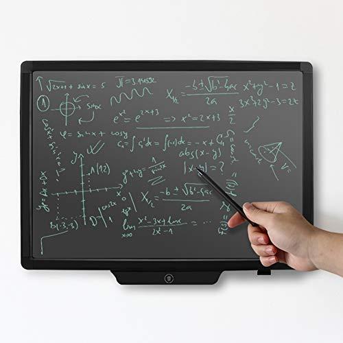 ASHATA Tavolette Grafiche, 20 Pollici LCD Elettronico per Scrittura a Mano Tablet Tavolo da Disegno con Cancellazione con Un Clic, Lavagna per Tablet LCD per Adulti/Bambini Lista Memo