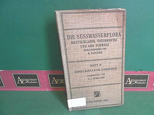 Dinoflagellatae (Peridineae). (Panzergeißler). (= Die Süsswasserfauna Deutschland - Eine Exkursionsfauna, Heft 3).