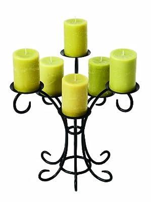 Minuteman International Bouquet Hearth Fireplace Candelabra, Black by Minuteman International - ACHLA Designs