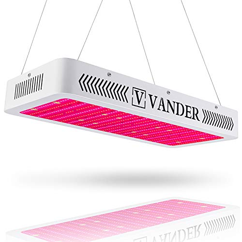 Vander 3000W Led Grow Light Double Switch for Indoor Plants Veg and Flower with UV&IR
