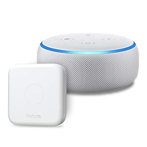 Echo Dot 第3世代 – スマートスピーカー with Alexa、サンドストーン + Nature スマートリモコン Remo 3