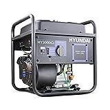 Hyundai HY3000CI 3kW 212cc 7hp Converter Generator, Blue