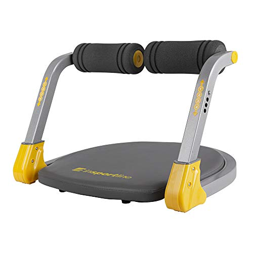 fit4form inSPORTline Bauchmuskeltrainer AB Trainer Core Perfect Duo | Smart Fitnessgerät für Sit-Ups Liegestütze Scissor