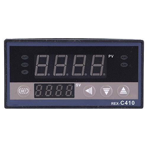 Controlador de temperatura-REX-C410 SSR ajustable/Salida de control de relé Controlador de temperatura digital Termostato AC220V(SSR输出)