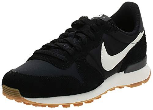 Nike Internationalist, Zapatillas Mujer, Negro (Black/Summit White-Anthracite-Sail 021), 39 EU