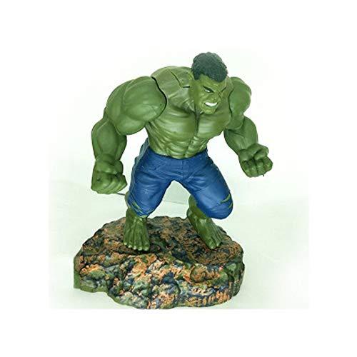 XINKONG The Avengers 3 Animationsmodell, Modell Hulk Statue, Tischdekoration, 19cm