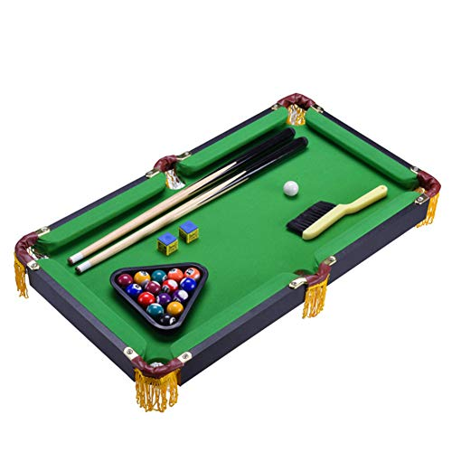 %23 OFF! softneco Compact Billiard Table Home Use,Portable Tabletop Billiards Game for Family Night ...