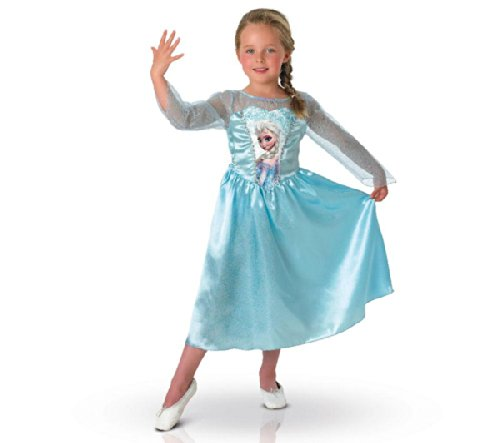 RUBIE'S Disney - Costume enfant Elsa - Taille 7-8 ans