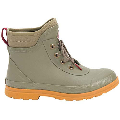 Muck Boot womens Muck Originals Lace Up Rain Boot, Taupe, 7 US