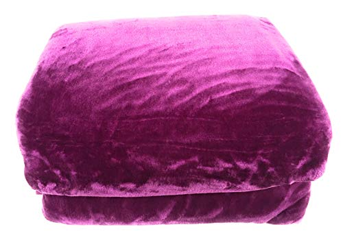 Manterol Decke Mint-Color - Malva, 180 cm (260x240)