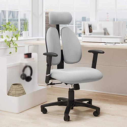N/Z Tägliche Gerätestühle Home Office Drehstuhl aus Stoff mit langlebiger und Stabiler, höhenverstellbarer Ergonomie