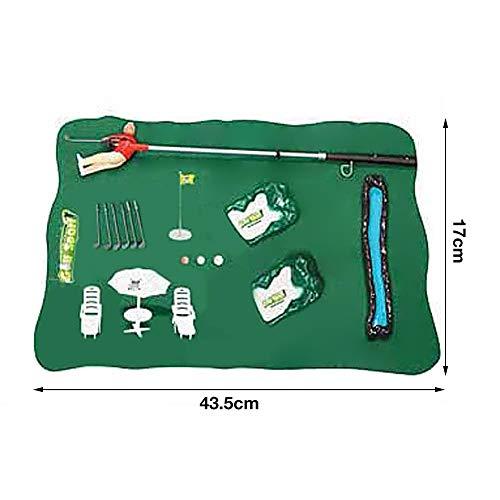 Luckyx Premium Golfset Golfspiel Kinderspiel Lernspiel Familienspiel Golfschläger Minigolf Spielzeug Golfset Golfspiel Kinder Eine Golf Puttingmatte Für Den Innen- Und Außenbereich