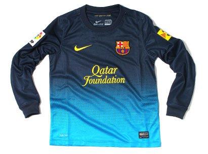 NIKE Barcelona Boys Home Goalkeeper Shirt 2012/13