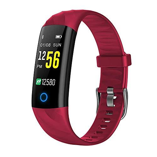 Yangsanjin fitnesstracker, hoog bereik, intelligente armband, IP68, waterdicht, fitnesstracker, sportactiviteit, Bluetooth, met bloeddrukmeter, calorieënteller