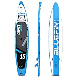 Paquete de Sup Bluefin Cruise | Tabla de Paddle Surf Hinchable | Remo de Fibra de Vidrio |...