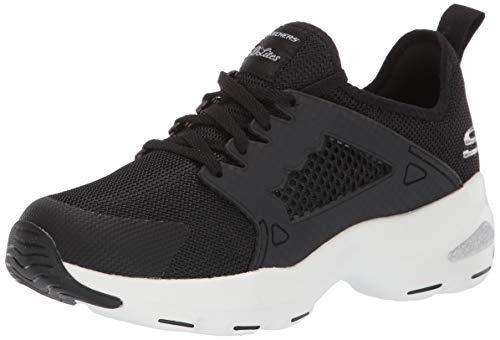 Skechers DLite Ultra-at The Top, Zapatillas para Mujer, Negro (Black White BKW), 38 EU