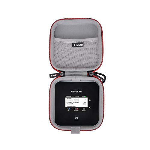 RLSOCO Tasche für Netgear Nighthawk M2 Mobiler WLAN Router MR2100/ Nighthawk M5 MR5200 Mobiler WLAN Router