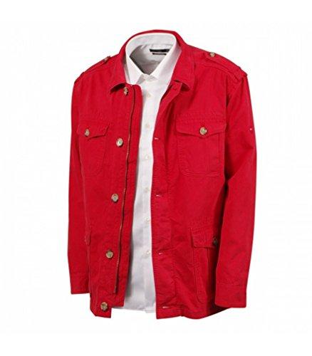 Eden Park - Cappotto Rosso Modello Dublin Rgf M
