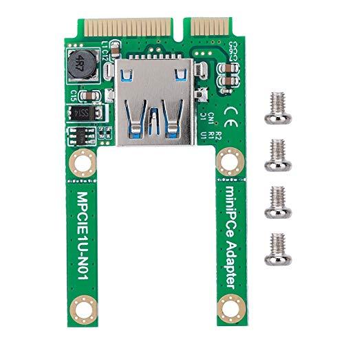 Mini PCI-E uitbreidingskaart, adapter voor mSATA naar USB conversiekaart voor WIN2000 / XP / Vista / Win7 / Win8 / LINUX, mPCI-E-USB converter