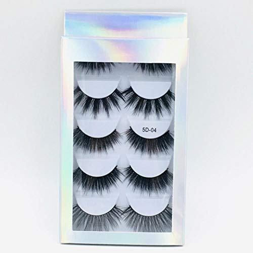 KADIS Natural Long Black False Eyelashes Fake Eye Lashes Makeup Extension Tools Professional Individual Eye Lashes,12