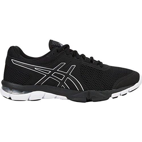 ASICS S705N Women's Gel-Craze TR 4 Shoe, Black/Silver/White - 6.5