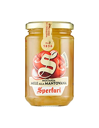 Sperlari - Mostarda Specialità Alla Mantovana, Senza Glutine, Mele, 380 Grammo