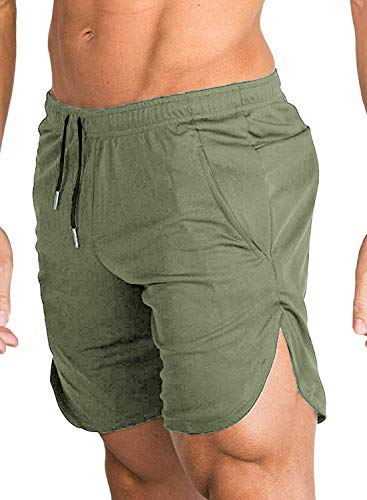 COOFANDY Men's Gym Workout Shorts Running Short Pants Fitted Training...