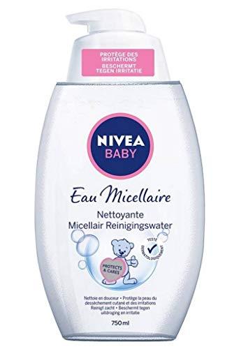 Nivea Baby Eau Micellaire Nettoyante 750ml (lot de 3)